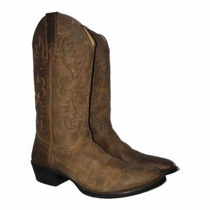 Cody James Stitched Western Cowboy Boots 8.5D